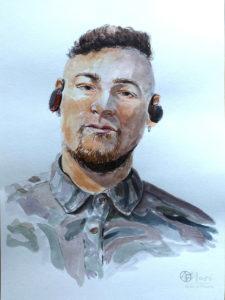 Портрет Евгения